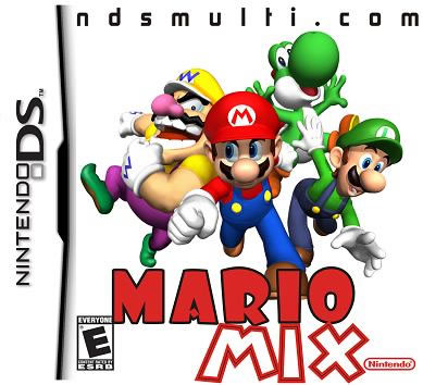 Mario Mix DS multicart