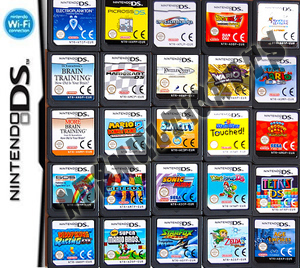 3DS new 2DS multicart multi game combo