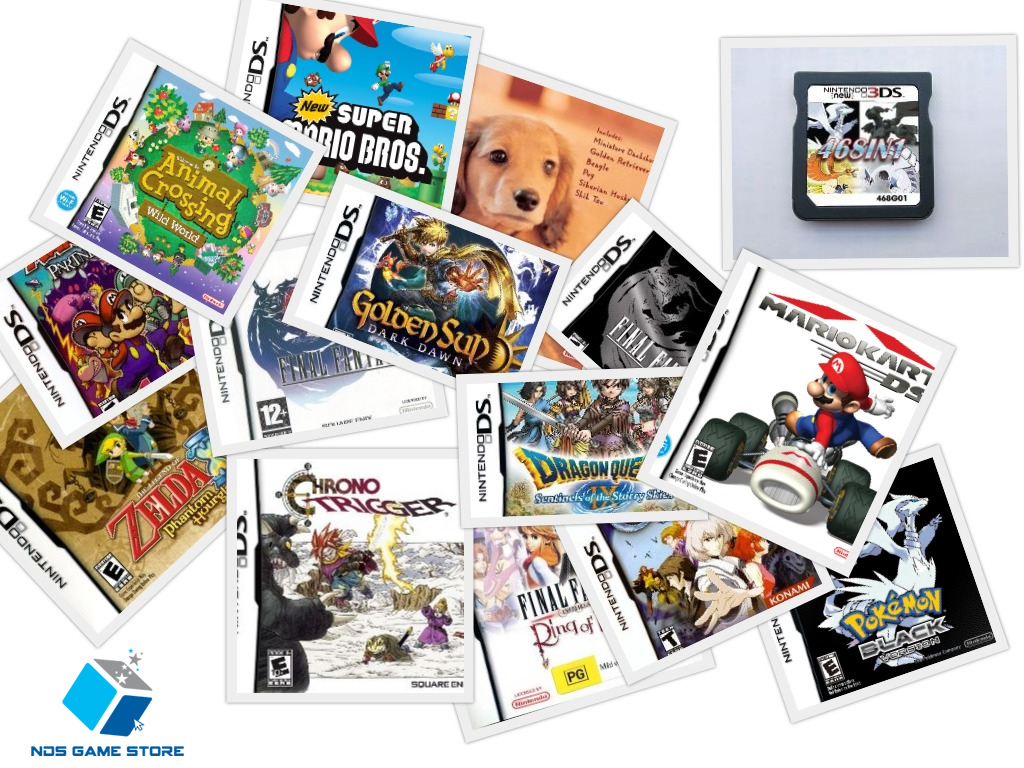 Cartridges for the Nintendo DS with more than one game